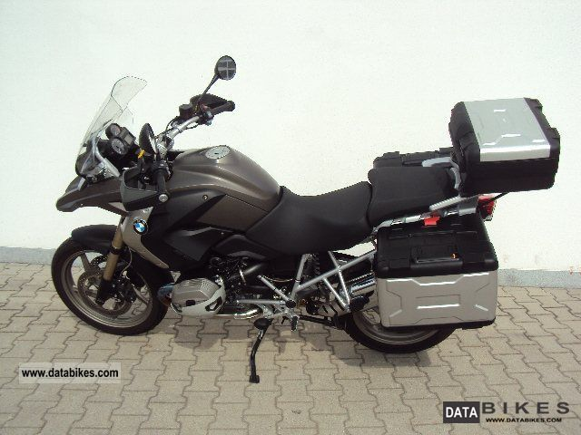 2010 BMW  R 1200 GS, BC, heated grips, panniers + top-Ca Motorcycle Enduro/Touring Enduro photo