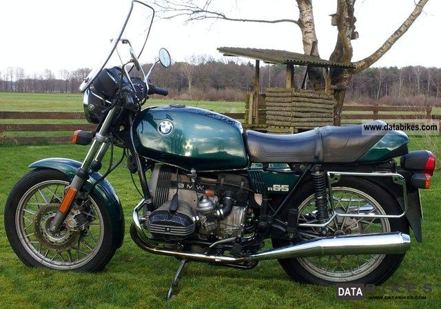 1982 BMW  R 65 Motorcycle Motorcycle photo