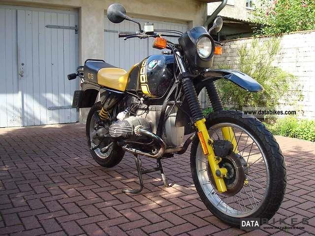 1990 BMW  R 80 GS Motorcycle Enduro/Touring Enduro photo