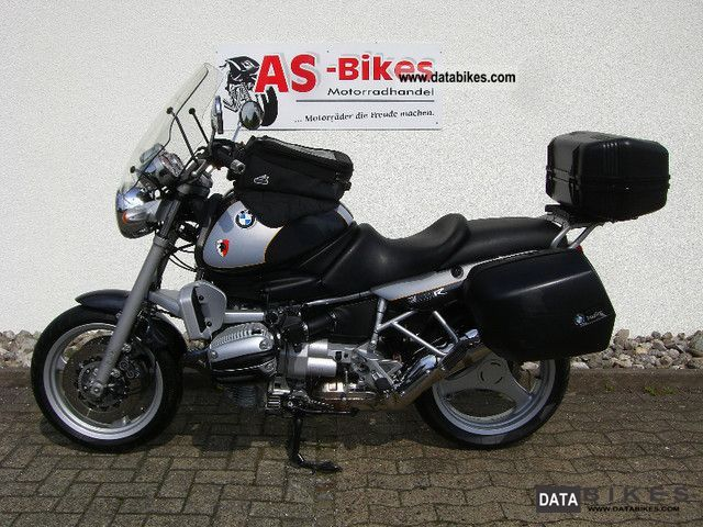 BMW  R 850 HG ABS luggage topcase maintained 2000 Tourer photo