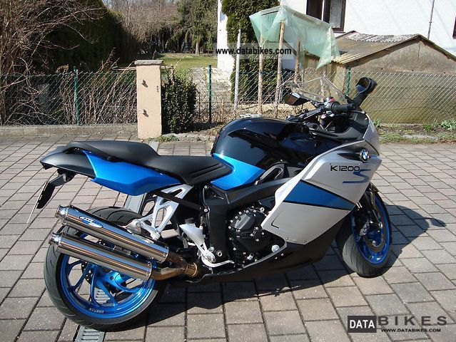 2008 BMW  K1200 S Motorcycle Sports/Super Sports Bike photo