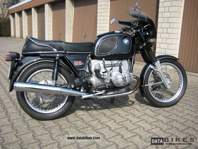 BMW  R60 / 6 1975 Vintage, Classic and Old Bikes photo