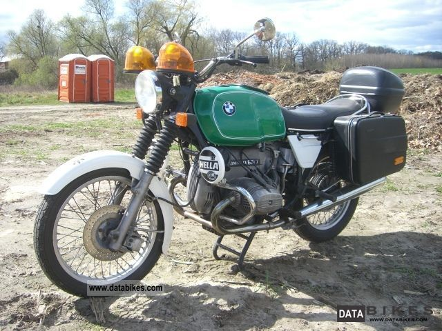 BMW  R60 / 7 1978 Vintage, Classic and Old Bikes photo