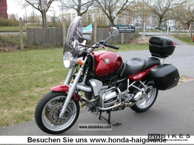 1999 BMW  R850R wheel ABS luggage topcase crash bars .... Motorcycle Motorcycle photo