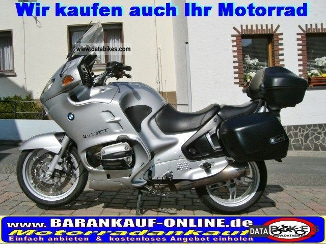 2001 BMW  R 1150 RT + ABS + radio + top case + 2 suitcases Motorcycle Tourer photo