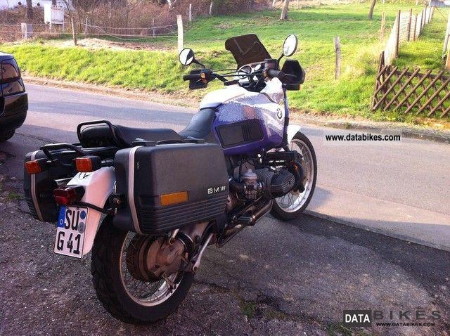 BMW  R 100 GS PD 1994 Enduro/Touring Enduro photo