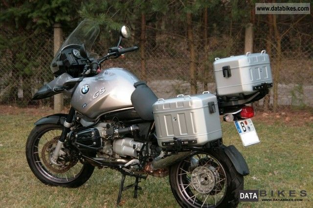 2003 BMW  * R 1150 GS Adventure, BMW-motobike panniers * Motorcycle Enduro/Touring Enduro photo