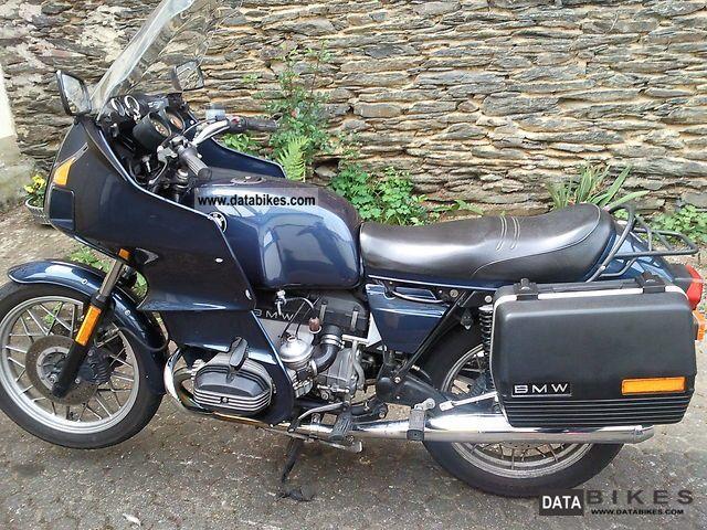 Bmw Tourer Motorcycle Bmw Rt1000 1982 Tourer