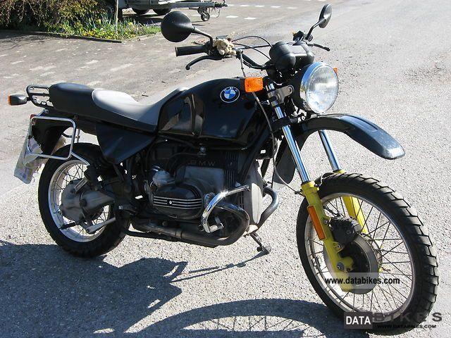 1988 BMW  R 80 GS Motorcycle Enduro/Touring Enduro photo