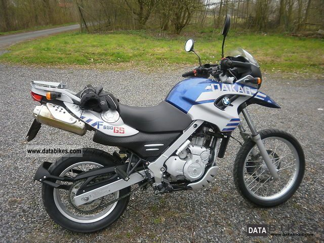 2005 BMW  GS 650 Dakar Motorcycle Enduro/Touring Enduro photo