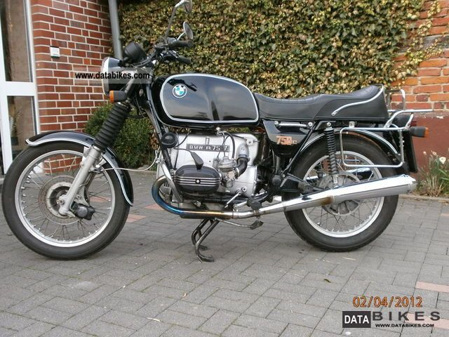 BMW  R 75/7 1976 Vintage, Classic and Old Bikes photo