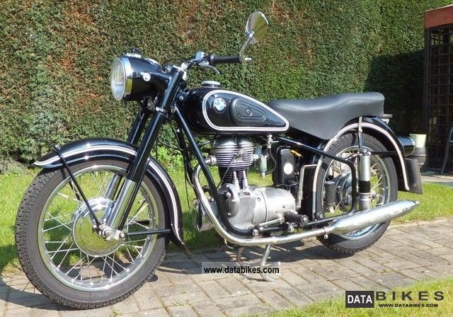 BMW  R25 1955 Vintage, Classic and Old Bikes photo