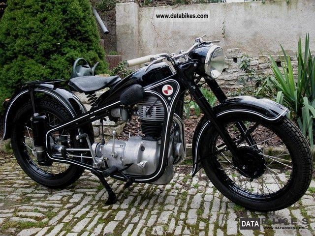 1953 BMW  EMW R35 Motorcycle Tourer photo