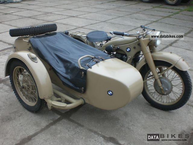 1938 BMW  R12 Wehrmacht sidecar Motorcycle Combination/Sidecar photo