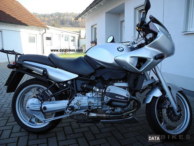 1995 BMW  R 850 R with cover, front spoiler and handlebar Motorcycle Sport Touring Motorcycles photo