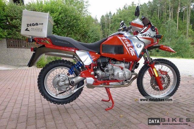 1992 BMW  R 100 GS Paris Dakar PD Motorcycle Enduro/Touring Enduro photo