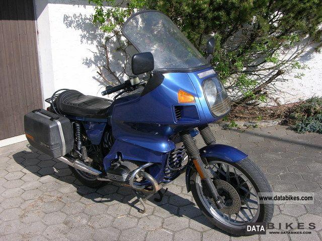 1982 BMW  R100 RT Motorcycle Tourer photo