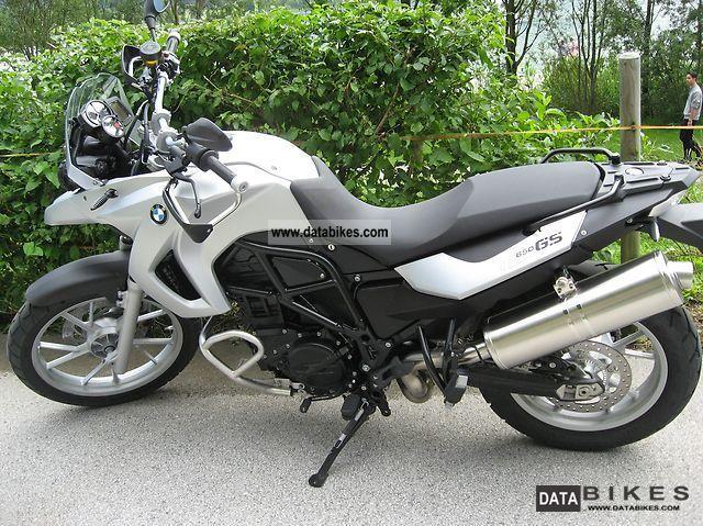 2011 BMW  F 650 GS includes case Motorcycle Enduro/Touring Enduro photo