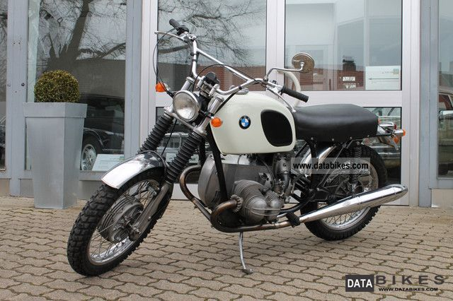 1973 BMW R 75 5 Scrambler Vintage Cross Motorcycle