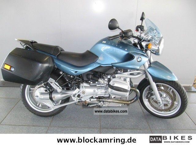 2001 BMW  R 1150 R - Case System - Motorcycle Tourer photo