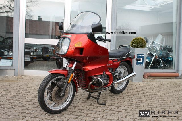 1986 BMW  R 65 RT Motorcycle Motorcycle photo