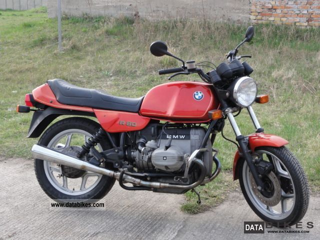 1990 BMW  R 80 Motorcycle Tourer photo