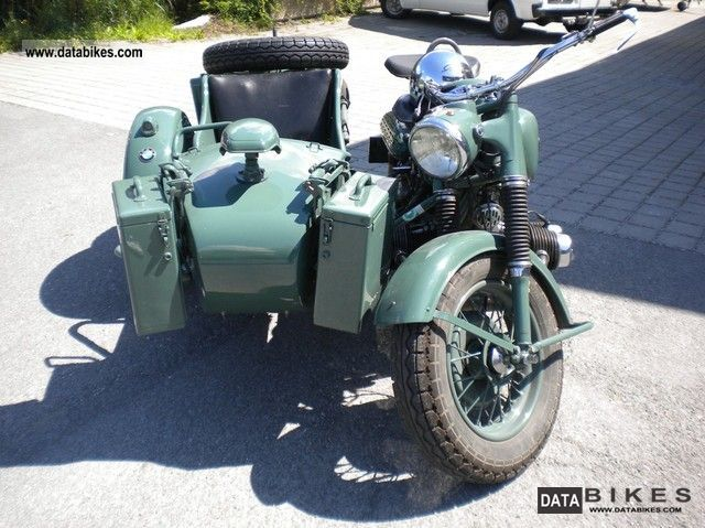 1976 BMW  R 75 Motorcycle Combination/Sidecar photo