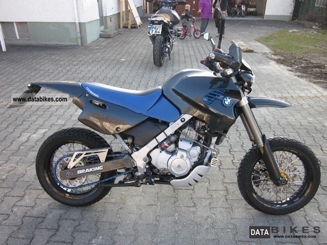 2002 BMW  F 650 GS Dakar, Supermoto Motorcycle Super Moto photo