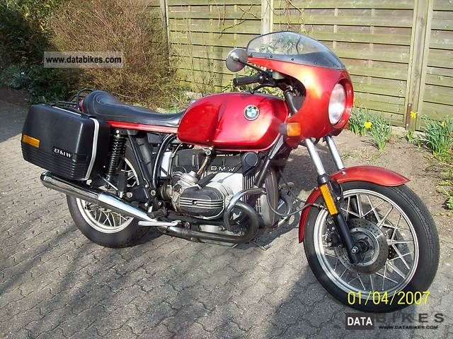 1983 BMW  R 100 CS Motorcycle Other photo