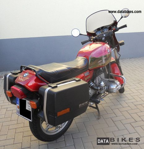 1990 BMW  R80 Motorcycle Motorcycle photo
