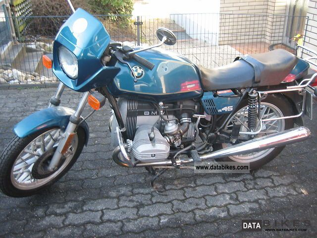 1982 BMW  R 45 Motorcycle Other photo