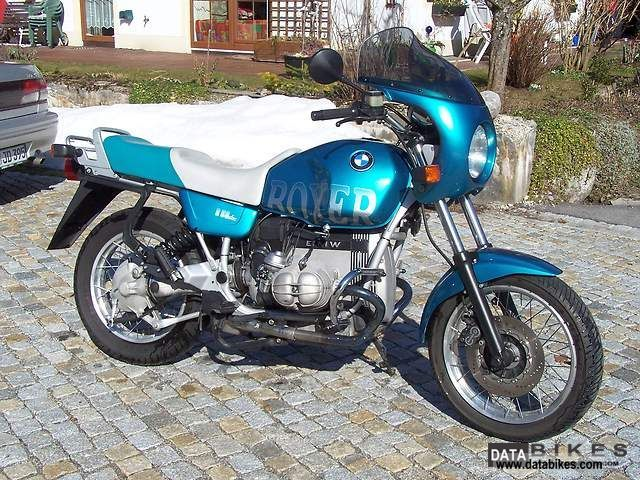1992 BMW  R80R BOXER Motorcycle Sport Touring Motorcycles photo