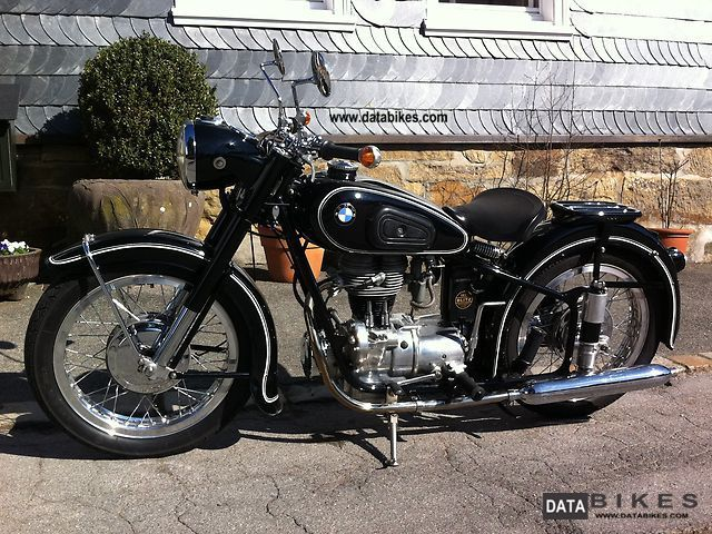 BMW  R 25/3 1956 Vintage, Classic and Old Bikes photo