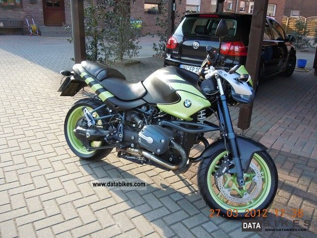 2004 BMW  1150 Rockster Motorcycle Naked Bike photo