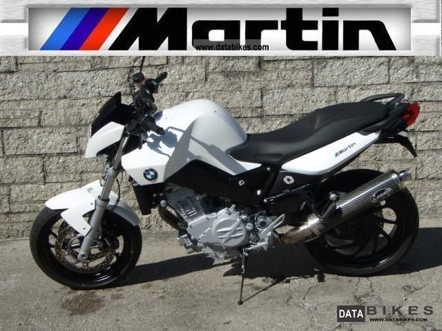 2007 BMW  F 800 Martin Street Edition Motorcycle Sports/Super Sports Bike photo