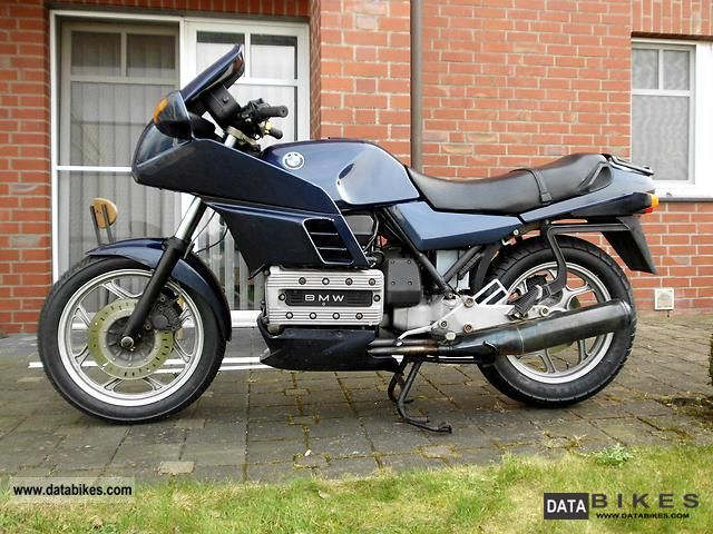 1986 BMW  100 K, RS Motorcycle Motorcycle photo