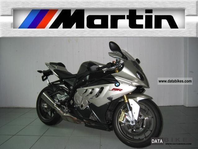 2010 BMW  S 1000 RR ABS, DTC, gear shift assistant Motorcycle Sports/Super Sports Bike photo