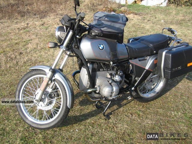 1986 BMW  R 80 ST Motorcycle Motorcycle photo