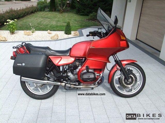 1989 BMW  R 100 RT Motorcycle Tourer photo