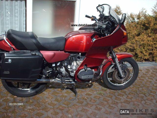 Bmw Tourer Motorcycle Bmw r 100 rt 1990 Tourer