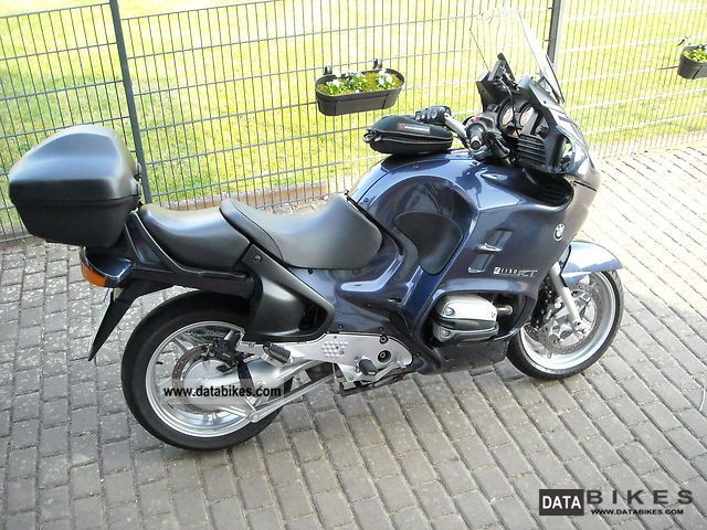 2001 BMW  R1150RT inc case and topcase Motorcycle Tourer photo