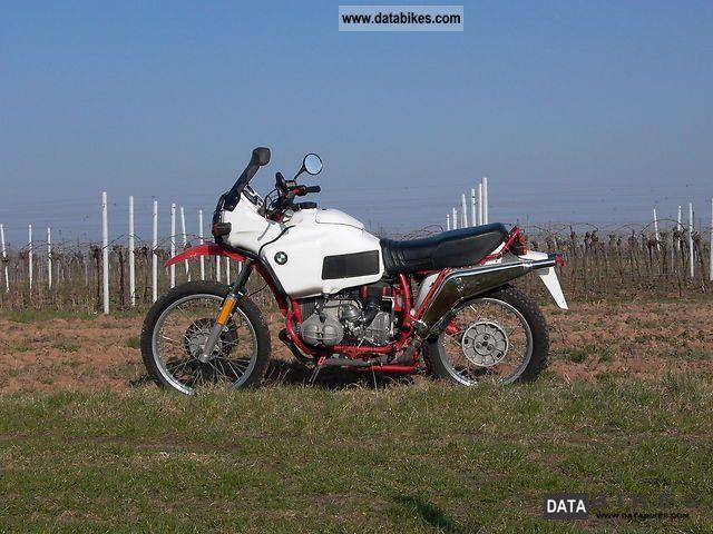 1985 BMW  R 80 G / S Motorcycle Enduro/Touring Enduro photo