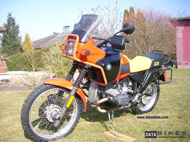 1989 BMW  R 80 GS Motorcycle Enduro/Touring Enduro photo