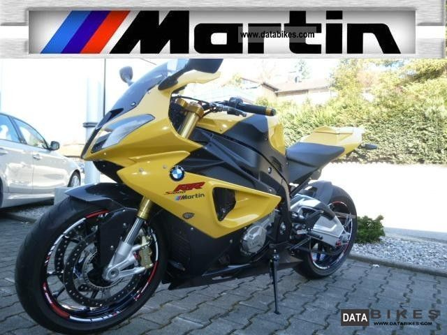 2011 BMW  S 1000 RR Martin - Edition Motorcycle Sports/Super Sports Bike photo