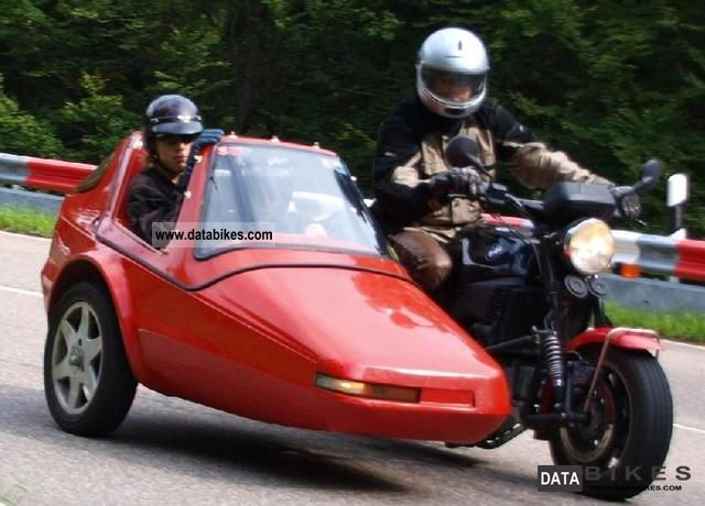 1992 BMW  K100RS 16V 1200cc COUNTY Motorcycle Combination/Sidecar photo