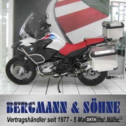 2011 BMW  R 1200 GS Adventure 30 years with aluminum cases Motorcycle Motorcycle photo