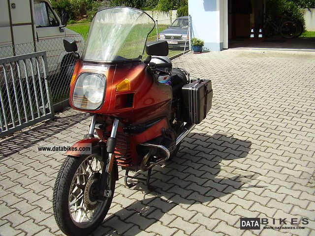 1980 BMW  R 100 RT first model Motorcycle Tourer photo