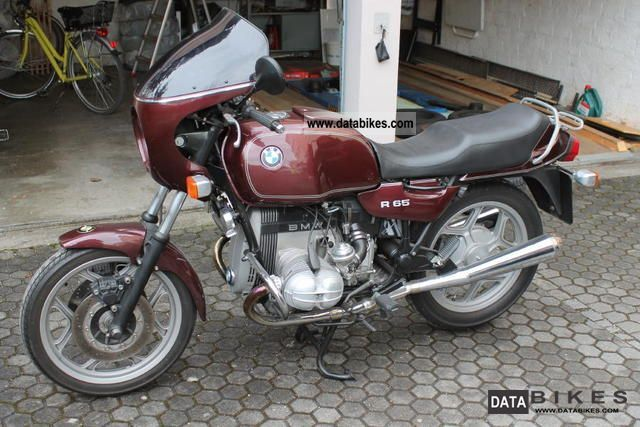 1992 BMW  R 80 Motorcycle Motorcycle photo