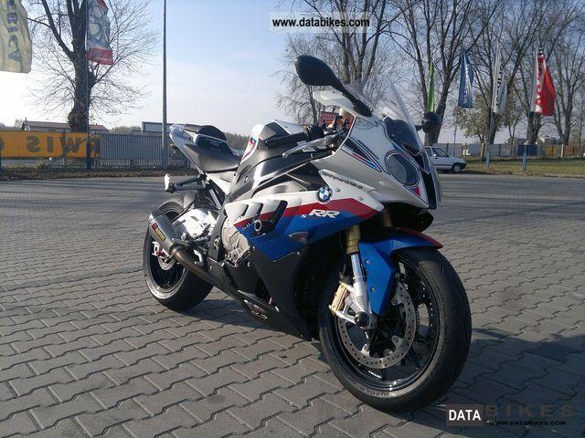 2010 BMW  S 1000 RR ABS / DTC AKRAPOVIC 111 RUBEN Motorcycle Sports/Super Sports Bike photo