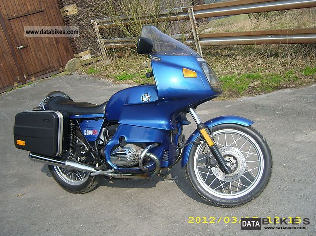 1982 BMW  R 100 RS Motorcycle Motorcycle photo